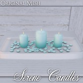 ::: Krystal ::: Serene Candles - Seafoam