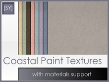 [SY] Coastal Paint Textures (with materials support)