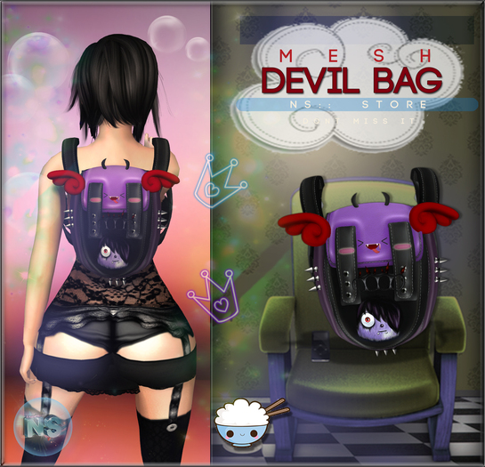 NS::  Devil bag (Mesh)