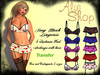 *Aly's Shop* Sexy Lingerie - Mesh + Hud 5 textures