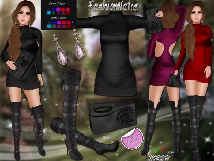 MESH Mediva Outfit FashionNatic /Hud Driven + Lolas Tango Applier (optional)