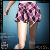 :KR: Private School Skirt - Pink