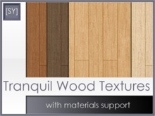 [SY] Tranquil Wood Textures (with materials support)