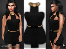 Bens Boutique - Cleopatra Dress Black