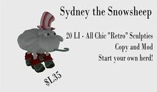 Sydney the Snowsheep