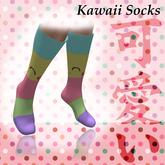~Song~ Kawaii Cute Socks *Mesh* High Heel Calf