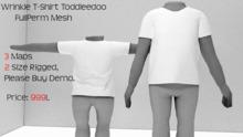 TDS* Wrinkle Unisex T-Shirt DEMO