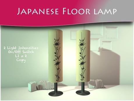 MOCO EMPORIUM - Japanese Floor Lamp