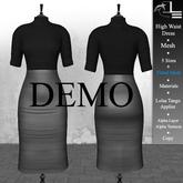 DE Designs - High Waist Dress - DEMO