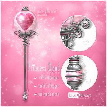 :love always: Princess wand