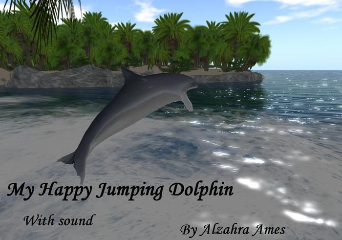 My Happy Jumping Dolphin by Alzahra Ames