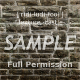 Texture 【CASTLE】 series ★ *wall 6-5 / Full permission