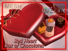Heart Shaped Box of Chocolates ♥ for Valentine's Day ♥