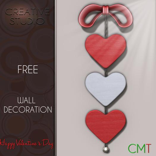 - CREATIVE STUDIO - FREE Wall Decoration