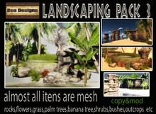 Tropical Landscaping mega pack 3