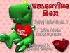 Custom Love: Loveosaurus Rex (Happy Valentines)