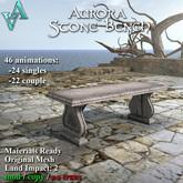 Atelier Visconti Aurora Stone Bench