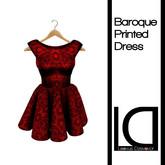 [[LD]] Major: Baroque Dress Rouge