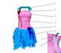 Burlesque corset dress 3