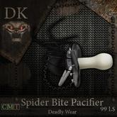 >> DK << Spider Bite Pacifier