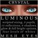 Mayfly   luminous   mesh eyes %28crystal%29