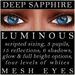 Mayfly   luminous   mesh eyes %28deep sapphire%29