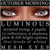 Mayfly - Luminous - Mesh Eyes (October Morning)