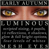 Mayfly - Luminous - Mesh Eyes (Early Autumn)