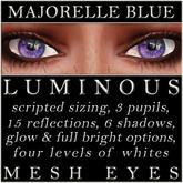 Mayfly - Luminous - Mesh Eyes (Majorelle Blue)