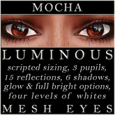 Mayfly - Luminous - Mesh Eyes (Mocha)