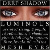 Mayfly - Luminous - Mesh Eyes (Deep Shadow)