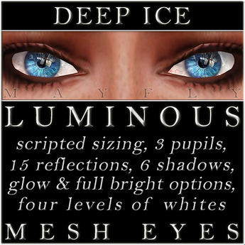 Mayfly - Luminous - Mesh Eyes (Deep Ice)