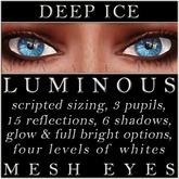 Mayfly - Luminous - Mesh Eyes (Deep Ice)