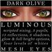 Mayfly   luminous   mesh eyes %28dark olive%29