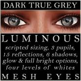 Mayfly - Luminous - Mesh Eyes (Dark True Grey)