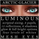 Mayfly - Luminous - Mesh Eyes (Arctic Glacier)