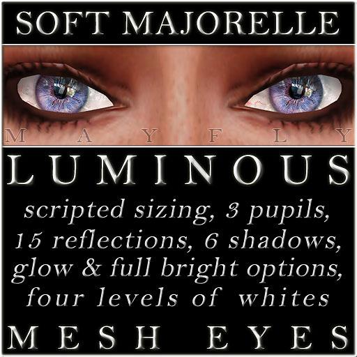 Mayfly - Luminous - Mesh Eyes (Soft Majorelle)