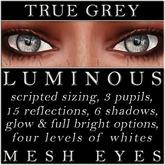 Mayfly - Luminous - Mesh Eyes (True Grey)