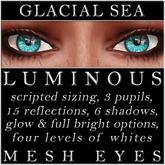 Mayfly - Luminous - Mesh Eyes (Glacial Sea)