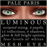 Mayfly - Luminous - Mesh Eyes (Pale Paris)