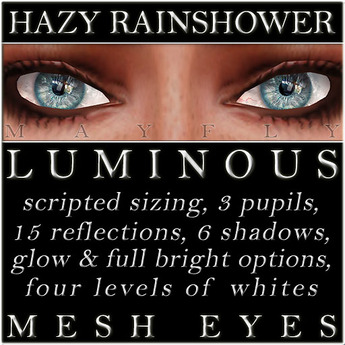 Mayfly - Luminous - Mesh Eyes (Hazy Rainshower)