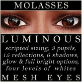 Mayfly - Luminous - Mesh Eyes (Molasses)