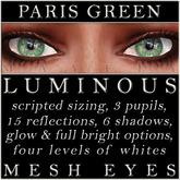 Mayfly - Luminous - Mesh Eyes (Paris Green)