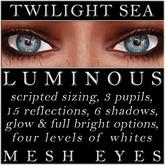 Mayfly - Luminous - Mesh Eyes (Twilight Sea)