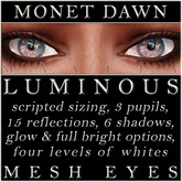 Mayfly - Luminous - Mesh Eyes (Monet Dawn)