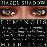 Mayfly - Luminous - Mesh Eyes (Hazel Shadow)