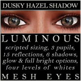Mayfly - Luminous - Mesh Eyes (Dusky Hazel Shadow)