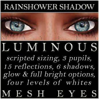 Mayfly - Luminous - Mesh Eyes (Rainshower Shadow)