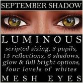 Mayfly - Luminous - Mesh Eyes (September Shadow)