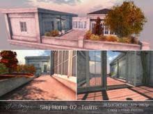 ::JP Design:: Sky Home 02 - Twins 31.5x31.5